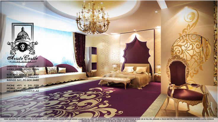 astounding luxury purple bedroom idea | Purple Bedroom luxury master | Luxury Master Bedrooms ...