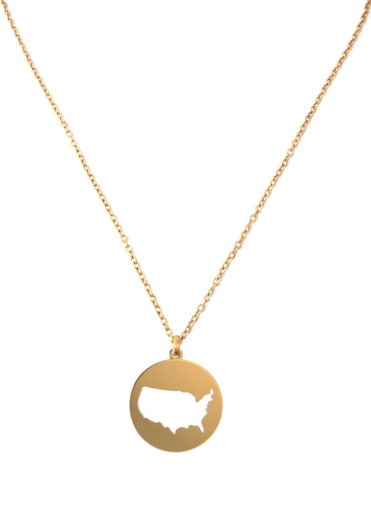 USA necklace for the World Collection #artelier_mx #worldcollection #StyleArtelier