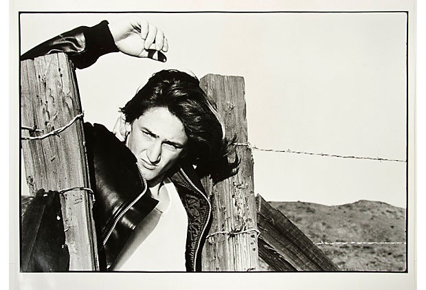 Young Sean Penn by Gisela Getty, 1976 on OneKingsLane.com  forget the Buddah's..I vote Sean Penn in the Pink Room