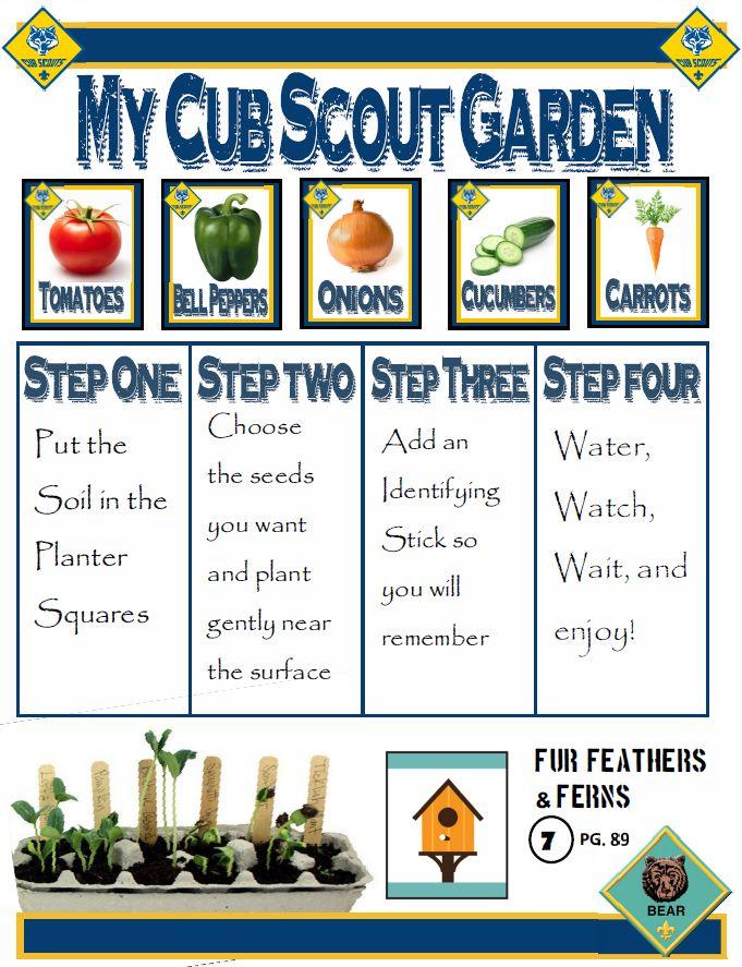 Cub Scout Garden