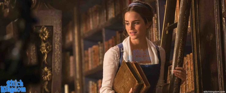 First official stills of Emma Watson and Dan Stevens in live-action Beauty and the Beast