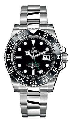 Steel Oyster Perpetual GMT-Master II watch ($8,450) by Rolex Read more: Best Watches for Men - Best Luxury Watches for Men 2012 - Esquire.