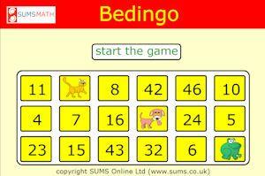 Gra Bedingo-poćwicz dodawanie,odejmowanie,mnożenie i dzielenie