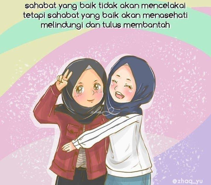 Sahabat Sejati Anime Muslimah 3 Sahabat | Revisi Id