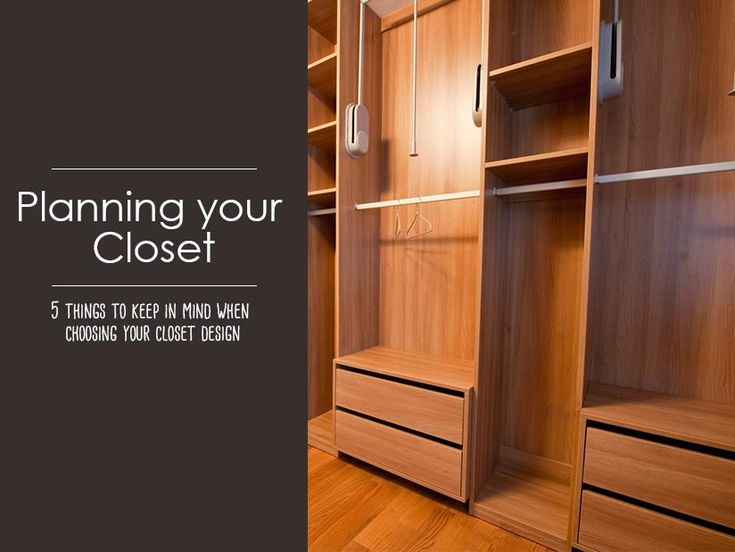 We know how frustrating it is when you are running late in the morning and you can't find your matching black sock or you can't wear your blazer because it has too many creases from being squashed in the back of your closet.  A good closet design allows you to use your space effectively, keep your things neat and tidy which will save you immense time in the mornings.