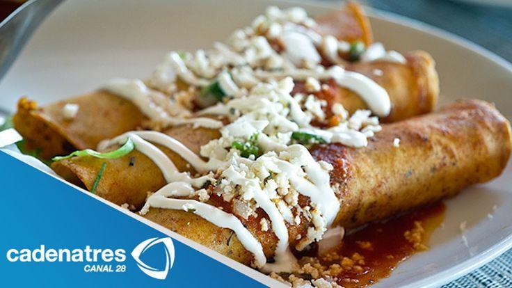 Enfrijoladas / Cómo hacer enfrijoladas / comida mexicana