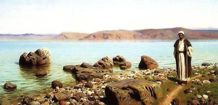 Vasily Polenov - The Lake of Gennesaret