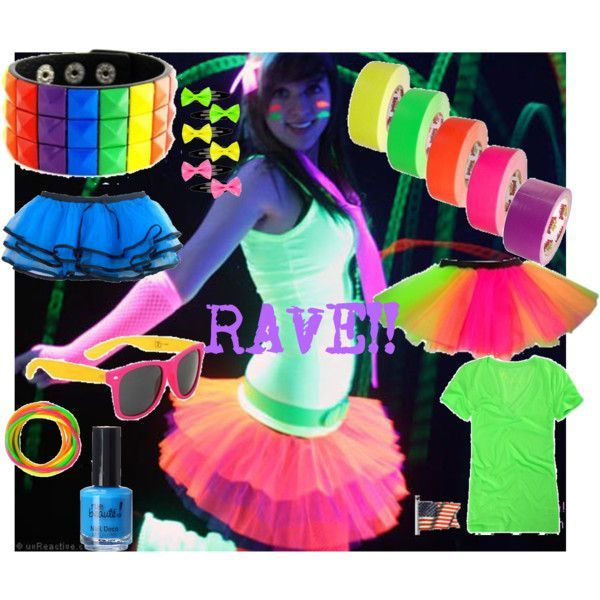 Cute Rave Party Outfits-20 Ideas What To Wear For Rave Party