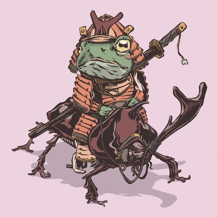 "Sometimes we see character designs that just, ahem, leap off the page, begging to become stars in a larger story. That's how we feel about Conor Nolan's ""Lilypad 7,"" an amphibious crew who come from an alternate version of feudal Japan."
