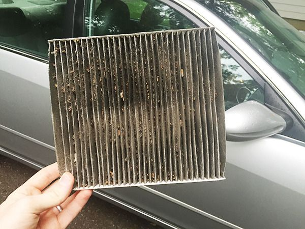 change your own auto air filter. Cabin filter!