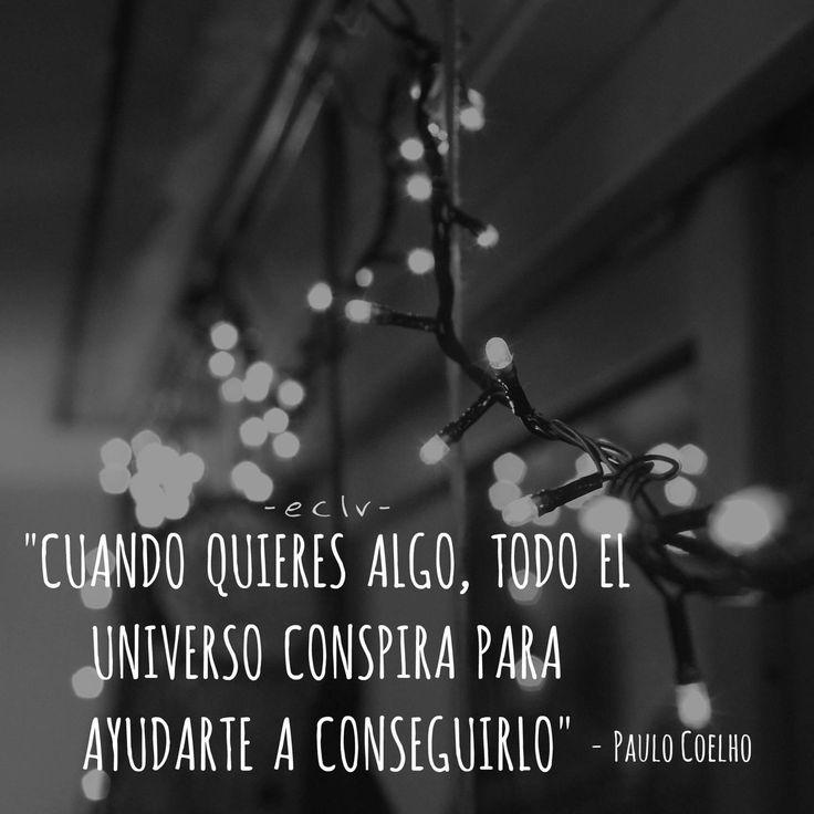 """Espléndida frase de Paulo Coelho en su libro, """"El Alquimista."""" ¿Ya la probaste?"""