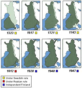 We recount the tale of Finland's eastern border, which has been drawn and redrawn many times.