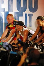 RPM is indoor cycling to the rhythm of powerful music.    45 Minutes.   Average of 675 calories burned.
