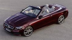 Mercedes-Benz : Nouvelle Classe E Cabriolet.