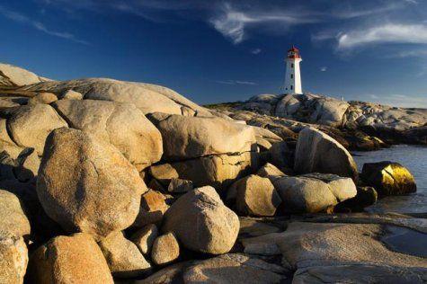 Peggy's Cove Lighthouse- St.Margarets Bay, Nova Scotia