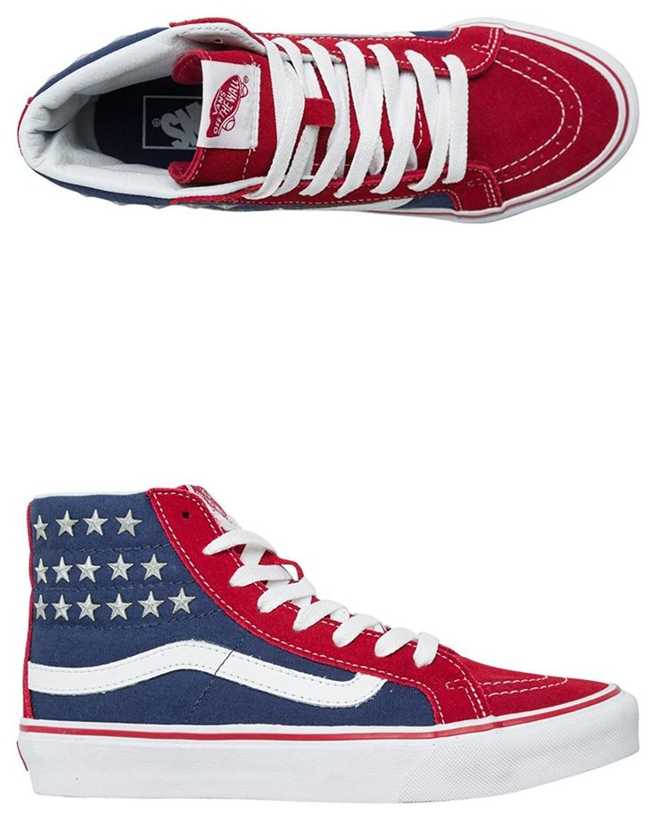 Vans Unisex Sk8-Hi Slim Studded Stars Sneakers -- Continue to the product at