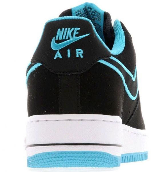 Обувь Nike Air Force 1 black blue