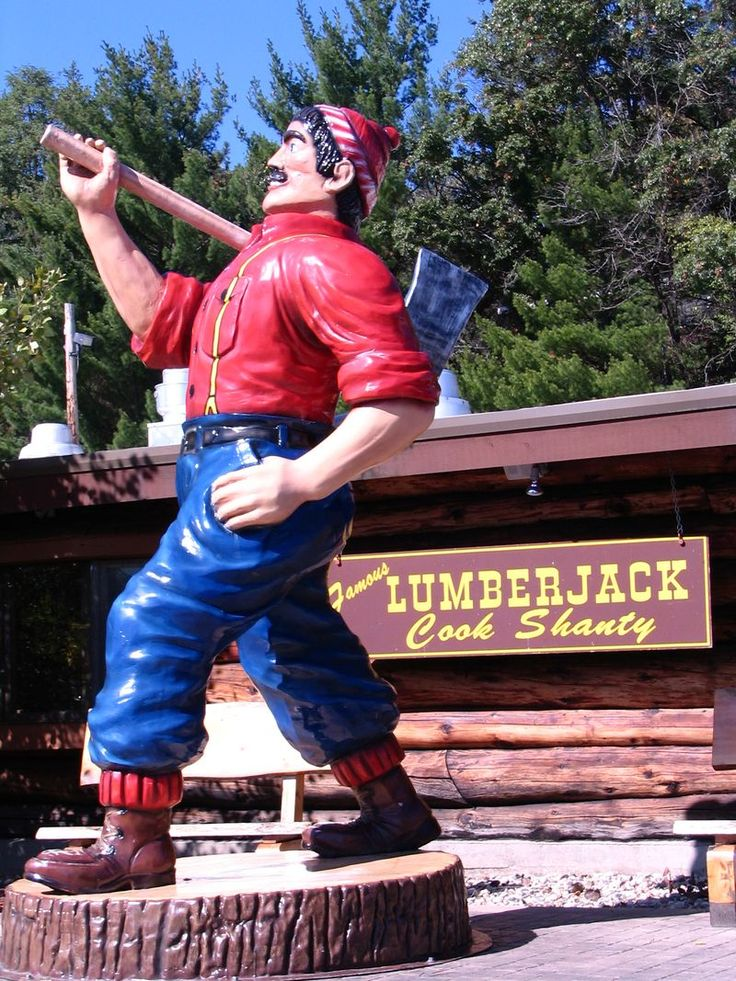 Wisconsin Dells Paul Bunyan    My bf hooked my on this place for breakfast. It is tradition.