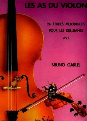 Bruno GARLEJ Les as du violon