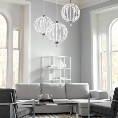 Chandelier Shades | Fabric, Beaded, Silk, Bulb Covers & More | Chandelier Supplies From Bellacor