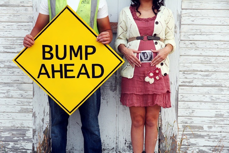 BUMP AHEAD + Sugar Bee Photography. + pregnancy announcement ideas