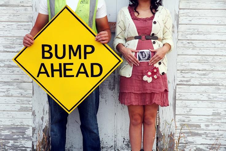 BUMP AHEAD + Sugar Bee Photography. + pregnancy announcement ideas