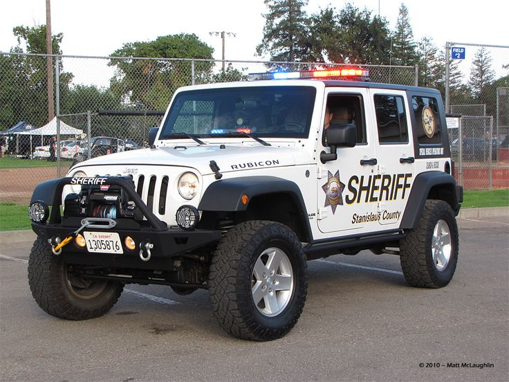 sheriff jeep jk unlimited