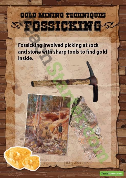 Gold Mining Methods - Fossicking