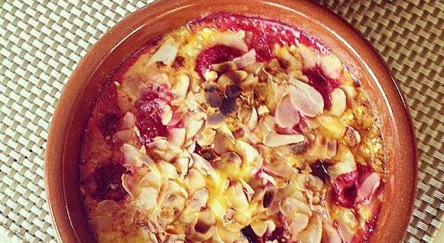 Recept - Warm fruit in een crème van kokosmelk
