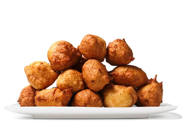 Almost-Famous Hushpuppies recipe from Food Network Kitchen via Food Network