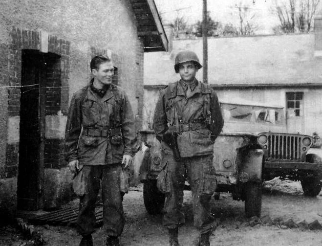 Richard Winters and Lewis Nixon- The real Band of Brothers