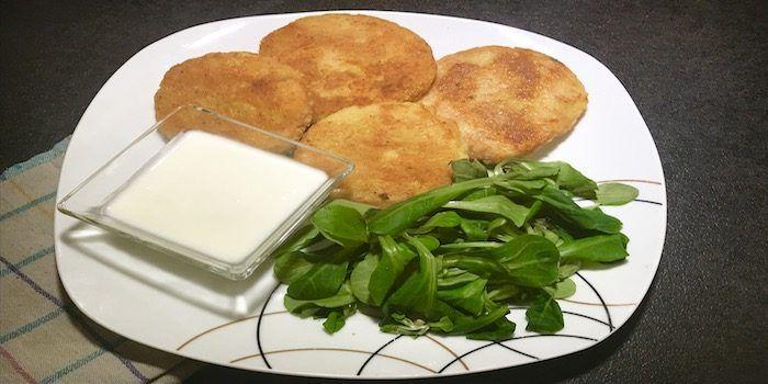 Vegane Kartoffellaibchen mit pflanzlicher Aioli
