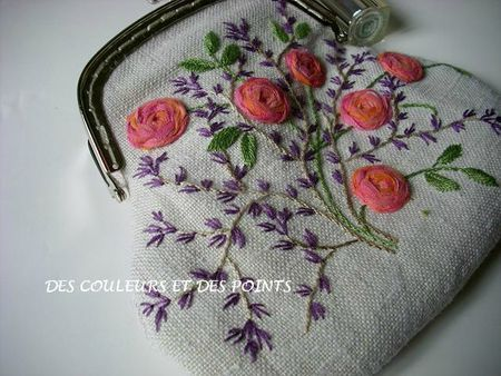 ♒ Enchanting Embroidery ♒  embroidered purse