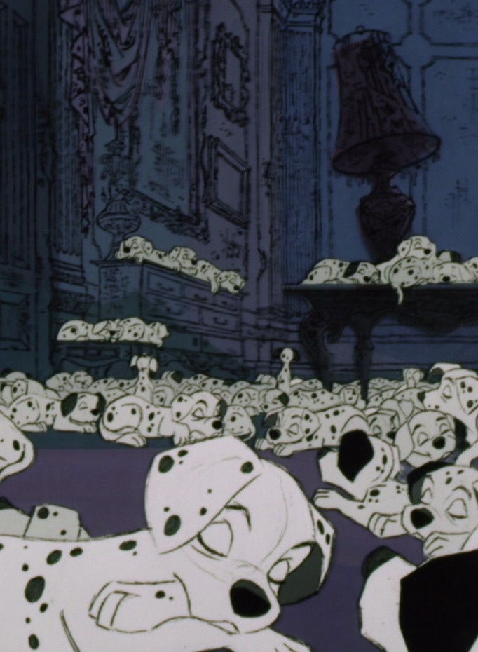 One Hundred and One Dalmatians (1961) #waltdisney