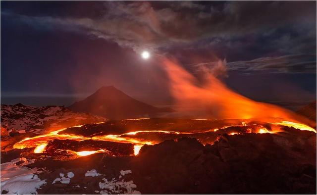 El lugar de la Tierra más parecido a Mordor: los volcanes de Kamchatka