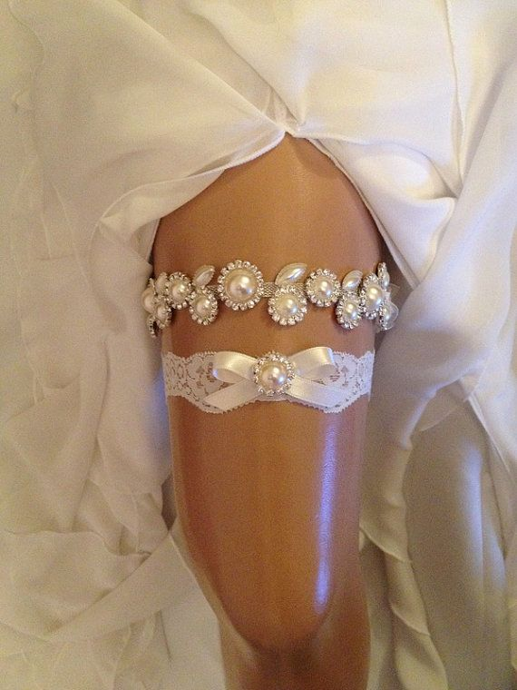 Lingerie wedding a collection of ideas to try about for Garter under wedding dress