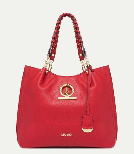 19b0b0fc57 Nuova It Bag Liu Jo colore rosso primavera estate 2018 prezzo 139 euro