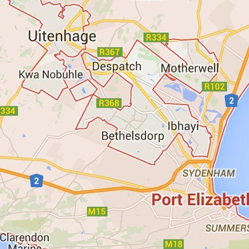 105 best images about sud frica voluntariado primates animales y hospital infantil on - Port elizabeth south africa map ...