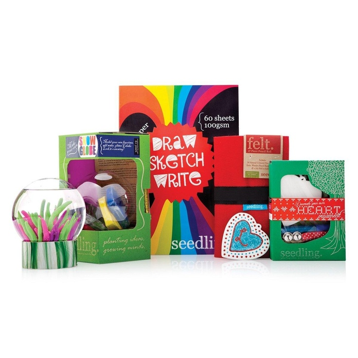 Seedling Make your own Snow Globe Gift Pack  $39.99