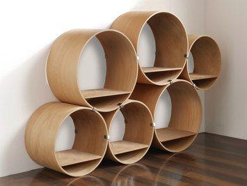 FlexiTube Nature - shelving system-Kißkalt Designs-Doris Kisskalt