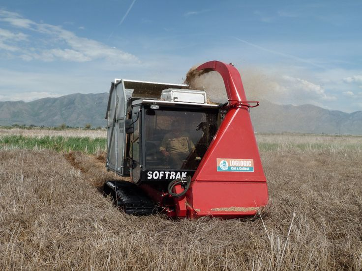 Softrak cut and collect systems in operation withe the DNR Wildlife Resources Saltlake Utah 2014
