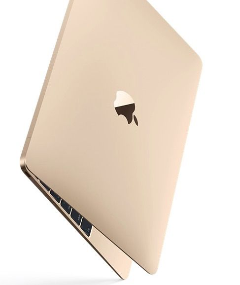 The 2015 MacBook Air gold