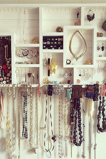 Organizing your jewelry in chic, unexpected ways does wonders — trust us, we've tried it.