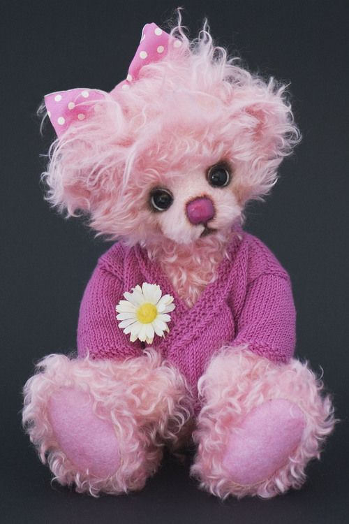 17 Best Images About Pink Teddy Bears On Pinterest