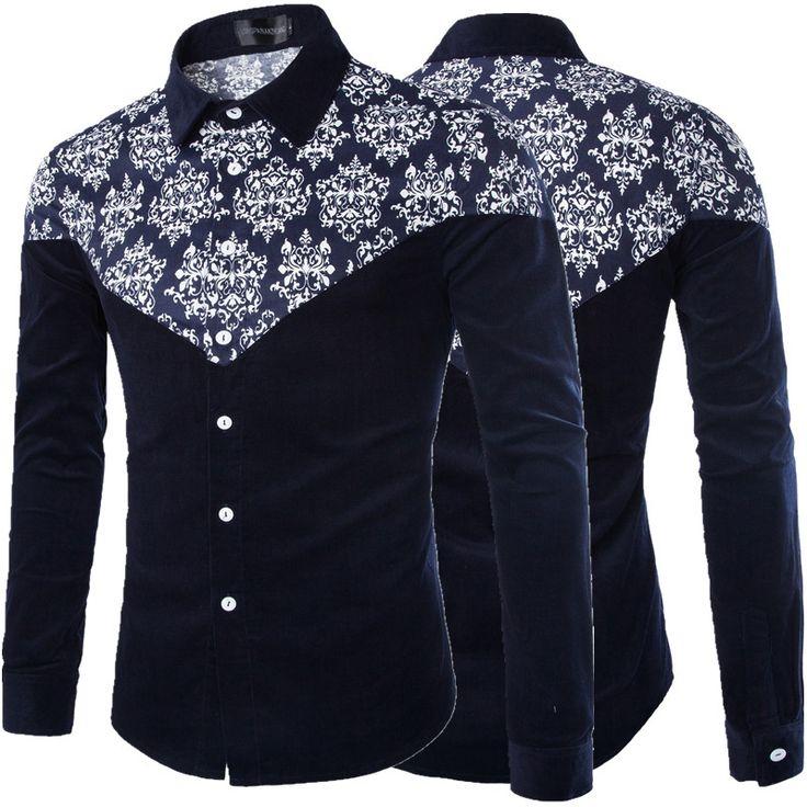 2015-nuevos-hombres-camisas-casuales-terciopelo-manga-completo-da-vuelta-abajo-camisas-de-impresión-de-cuello