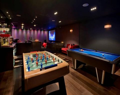 best game room design ideas best game room images indoor game room design pictures game room. Black Bedroom Furniture Sets. Home Design Ideas