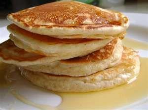 PANCAKES FROM SCRATCH   1 egg  1 c. flour  3/4 c. milk  2 tbsp. butter  1 tbsp. sugar  3 tsp. baking powder  1/2 tsp. salt