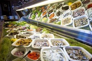 Ravintola Origo saaristolaispöytä