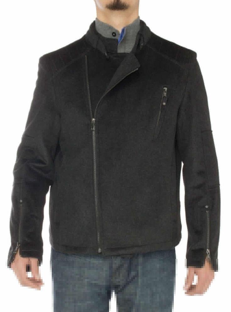 Mens Wool Casual Sport Coat Modern Fit S - Image1