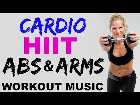 Grab your dumbbells for this sweat filled Fat Burning, Low Impact Cardio, Arms + ABS Tabata Workout. We'll warm up for 4 Minutes and do 4 Tabata Intervals of...